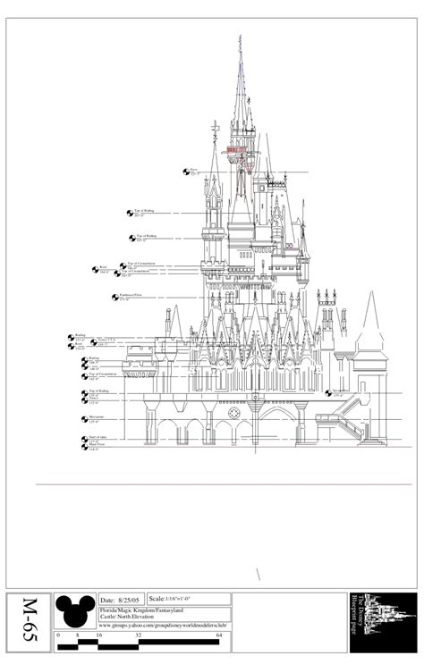 disney imagineering blueprints for cinderella wdwthemeparks news disney blue prints magic