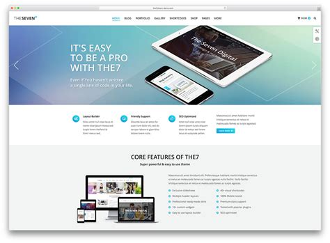 homepage design 2016 40 awesome flat design wordpress themes 2017 colorlib