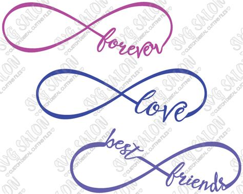 Toilet Mug by Best Friends Love And Forever Infinity Cutting File Set