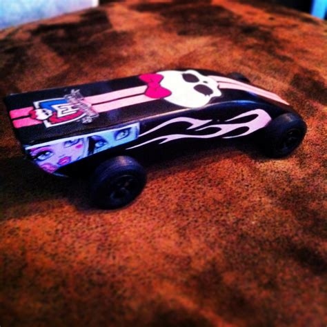 Monster High Auto by Monster High Pinewood Derby Car Autos Post
