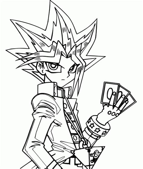 yu gi oh coloring pages yugioh book coloring home
