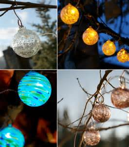 Solar Powered String Lights Patio Glow Solar String Lights Contemporary Outdoor Rope And String Lights Other Metro