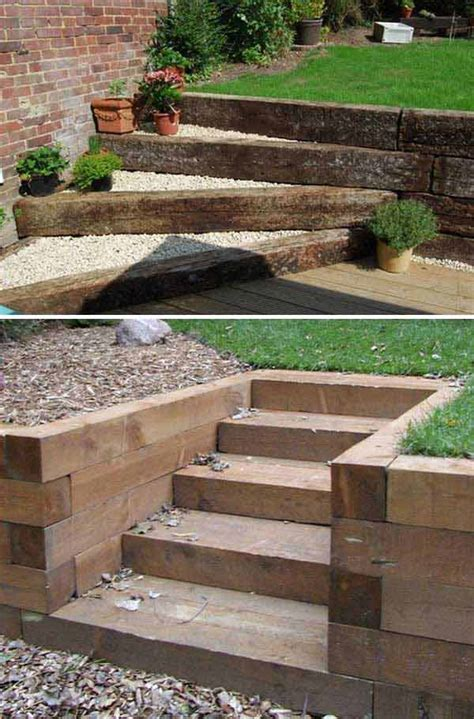 outdoor stairs decoration that will amaze you the best 23 diy ideas to make garden stairs and steps