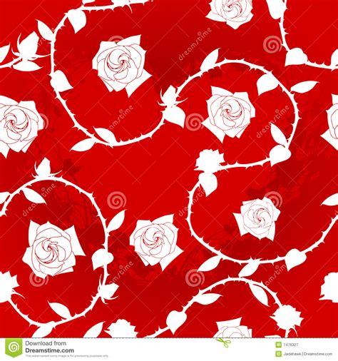 red white pattern vector white on red seamless rose sari pattern royalty free stock