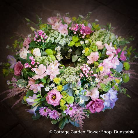 Cottage Garden Flower Shop Cottage Garden Wreath The Cottage Garden Flower Shop Dunstable S Original Florists