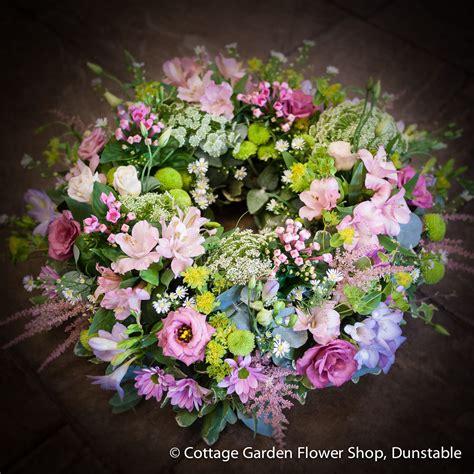 cottage garden wreath the cottage garden flower shop - Cottage Garden Flower Shop