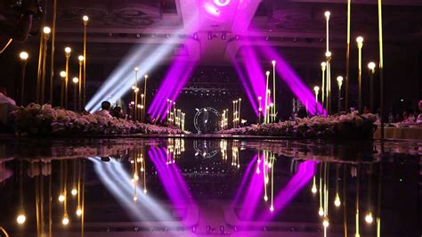 Stage Lighting And Trussing System Project For The Wedding Lights Events
