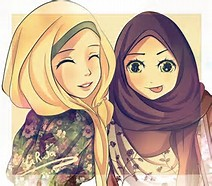 Hijab Kartun : Syiar untuk Para Muslimah
