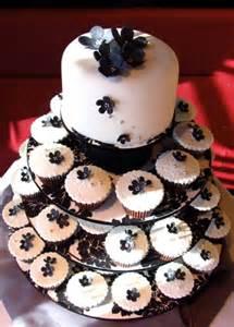 White cupcakes wedding cakes wedding cake