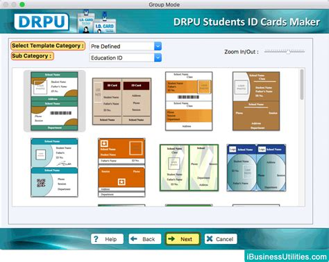 id card template free for mac students id cards maker for mac design students id cards