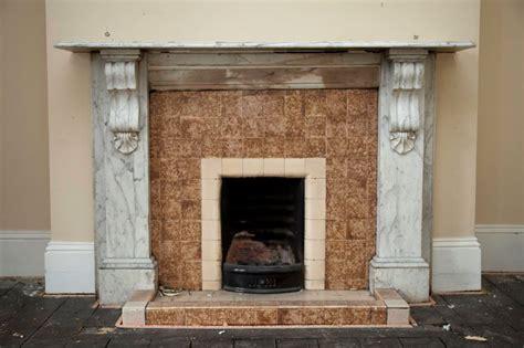 Restoration Carrara Marble Fireplace Ryan Smith Marble Fireplace Restoration