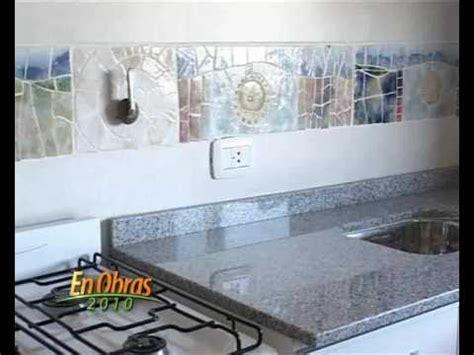 ceramica en banos  cocina olga tarditti en obras tv