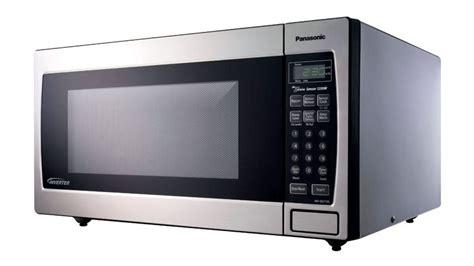 panasonic genius 1250 watt microwave with inverter technology stainless steel