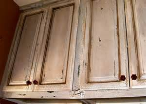 Are rub through distress marks on cabinets are overdone passe