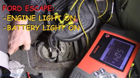 ford escape engine light ford escape engine light battery light on