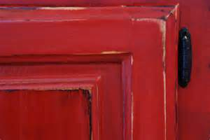 Red chalk paint uniquely yours or mine