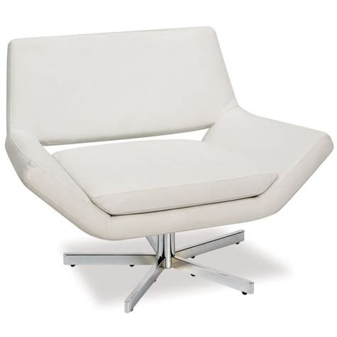 white leather swivel chair leather swivel chair in white yld5141 w32
