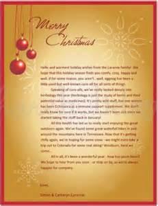 Printable red christmas bulb letter template