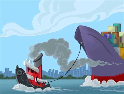 cartoon tug boat cartoon tugboat i tugboats pinterest