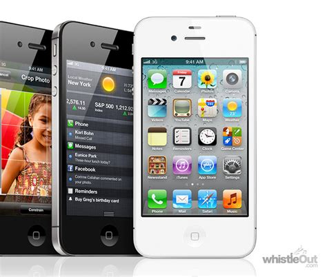 iphone 4s 16gb compare prices plans deals whistleout