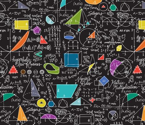 math pattern ideas math count on it fabric sammyk spoonflower