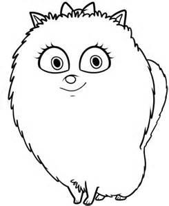 desenho gigi pets colorir colorir org
