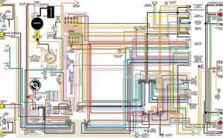 1970 ford maverick 18x24 color laminated wiring diagram