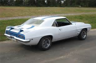 1969 pontiac firebird trans am 2 door hardtop rear 3 4 81837