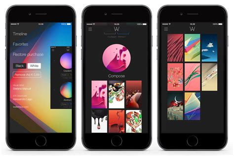 layout app iphone wallart app enrich your device layout
