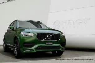Green Volvo Xc90 Matte Green Volvo Xc90 Signed By Heico Sportiv