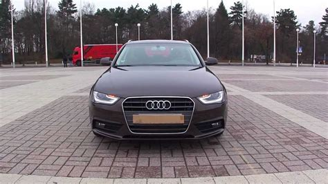 Audi A4 2013 Facelift by 2012 Audi A4 Avant Facelift Walkaround Youtube