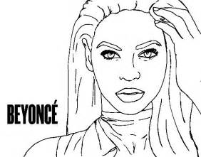 beyonce coloring book beyonce coloring pages