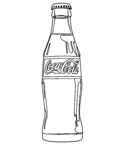 coloring pages drink cocktail coloring pages