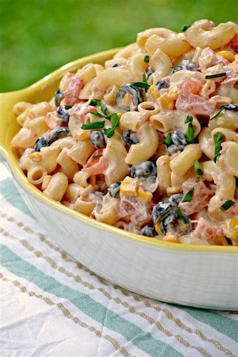mexican pasta salad best 25 mexican macaroni salad ideas on pinterest
