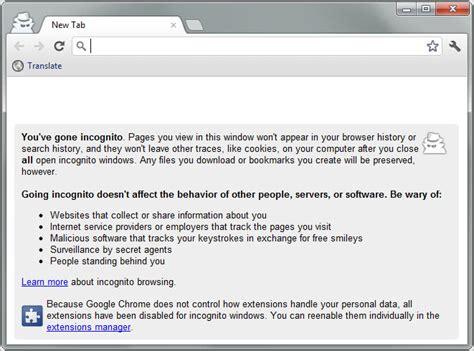 chrome incognito ghost incognito automate private browsing in chrome