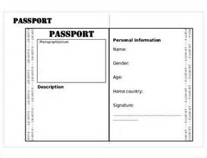 passport template for passport templates free premium templates creative