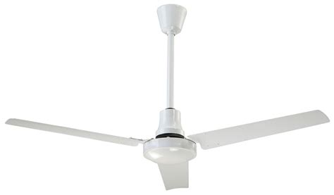 industrial fans direct com canarm cp60hpwp 60 quot industrial grade white ceiling fan