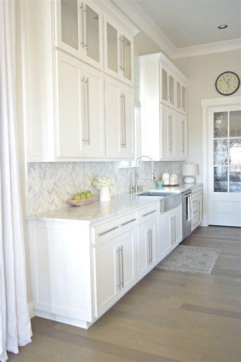 white kitchen tour guest countertops slate backsplash kitchen tour zdesign at home
