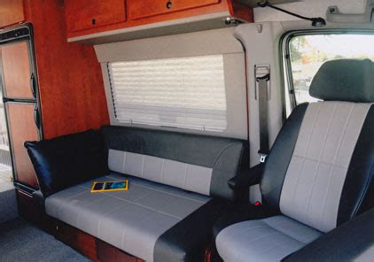 boat bench seats that fold into a bed designing your custom cer van conversion seats bed