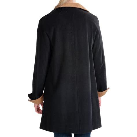 ellen tracy wool blend swing coat ellen tracy wool color block swing coat for women 7888w