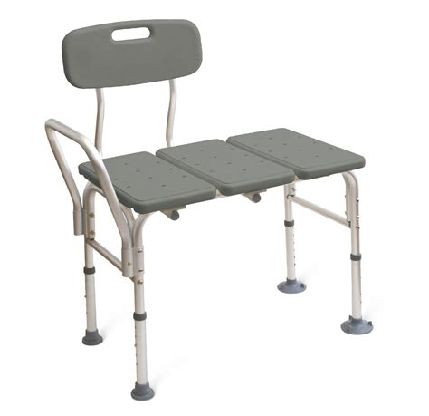 transfer bath bench with back transfer bench with back careway wellness center