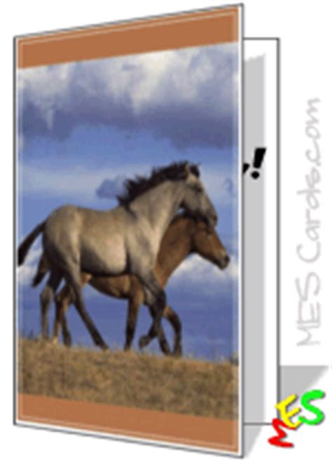 printable birthday cards horses free horse cards