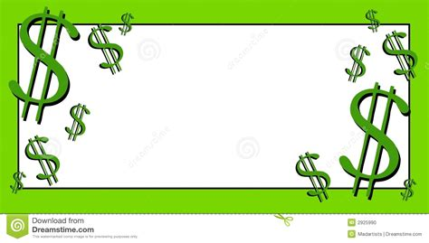 money clipart dollar bill border clip 11