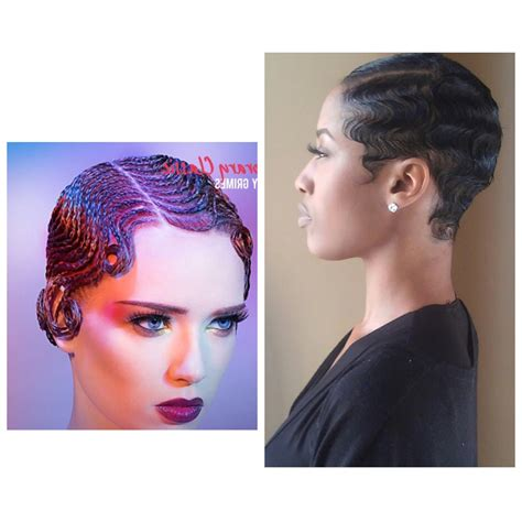 Black Hair Finger Waves Hairstyles by Black Finger Waves Hairstyles Fade Haircut