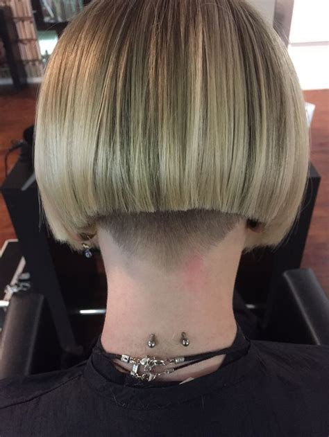 short stacked bob haircut shaved 17 best images about buzzed napes on pinterest catwalk