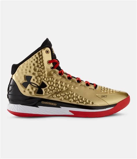Limited Edition Sepatu Basket Pria Armour Stephen Curry Bhm curry chaussures size 13