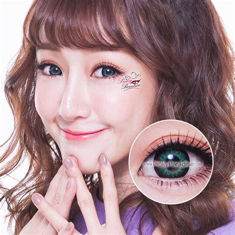 new vivieye super size 18 8mm color contact lens cosmetic contact eos super neon green circle lenses colored contacts