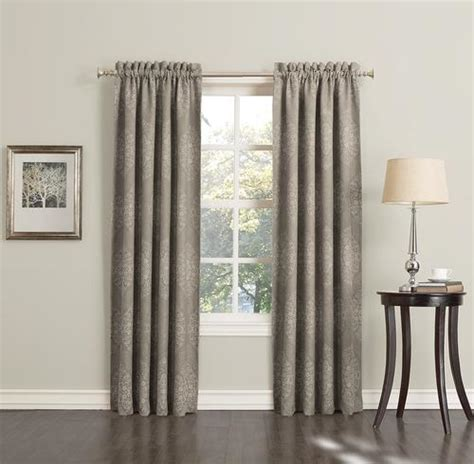 menards curtains s lichtenberg sun zero laney room darkening drapery panel