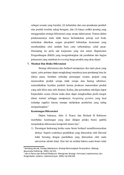 makalah strategi layout makalah strategi diferensiasi