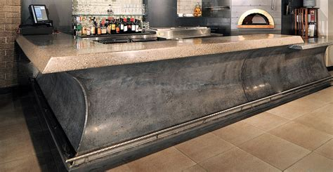 concrete bar tops award winning concrete bar cheng concrete exchange